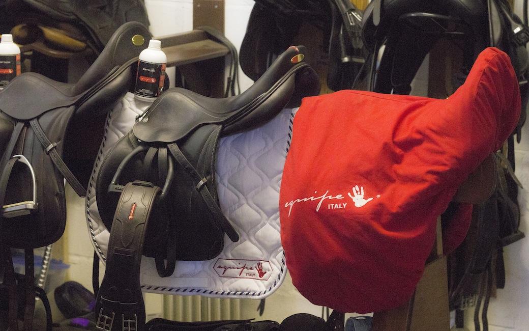 Equipe Saddles sponsors of Laura Collett