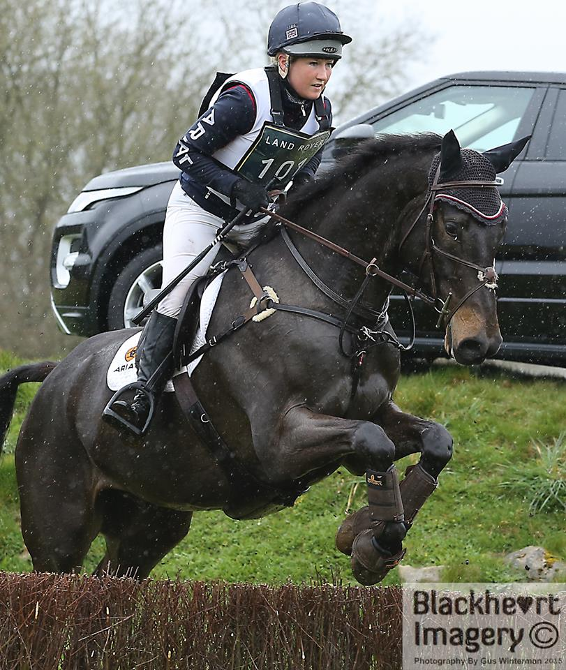 Laura Collett and Oratorio ll, Gatcombe, March 2015